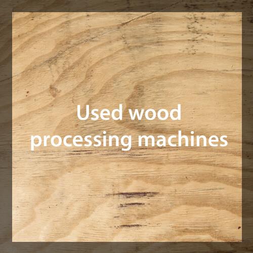 Medienos apdorojimo įranga